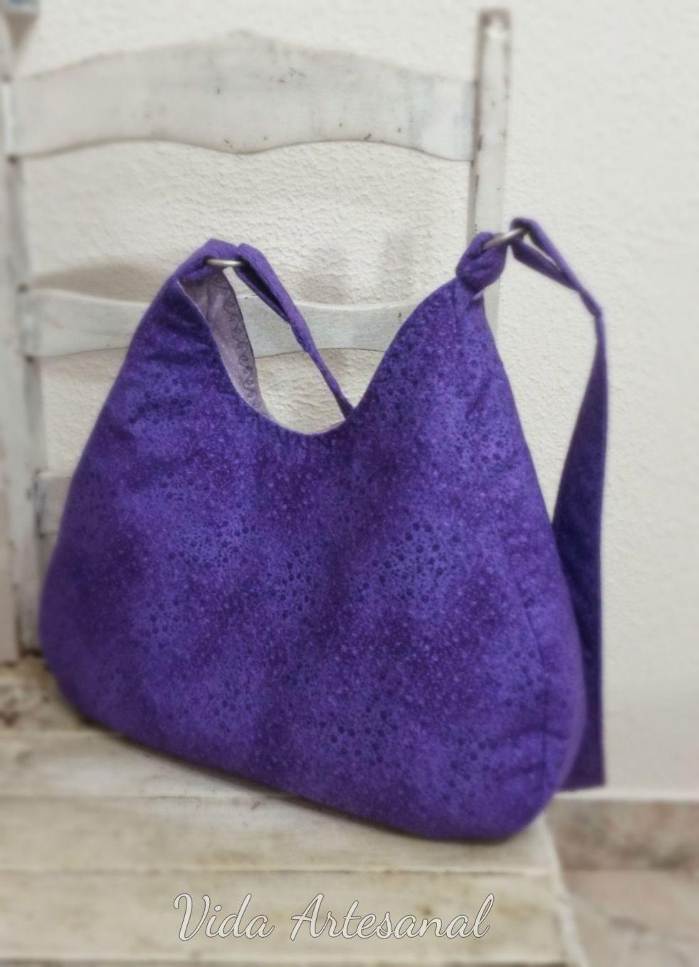 Bolsa De Tecido Artesanal : Bolsa de tecido vida artesanal